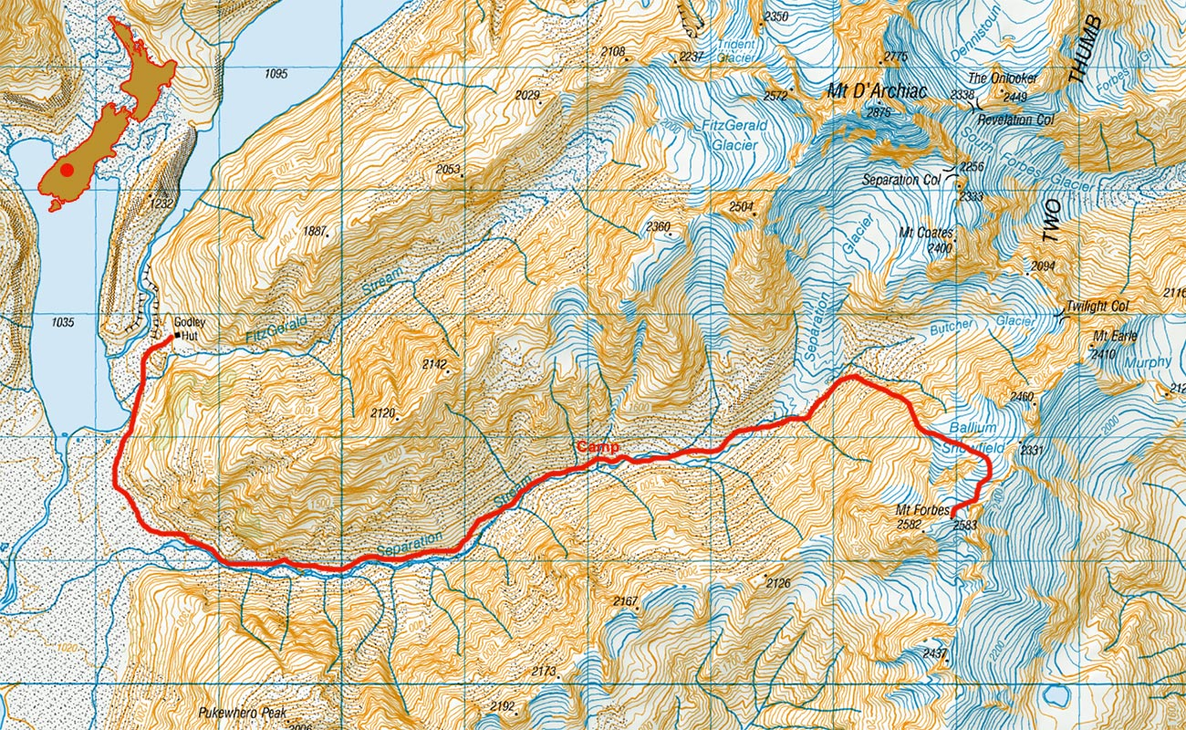 Mt-Forbes-route-map