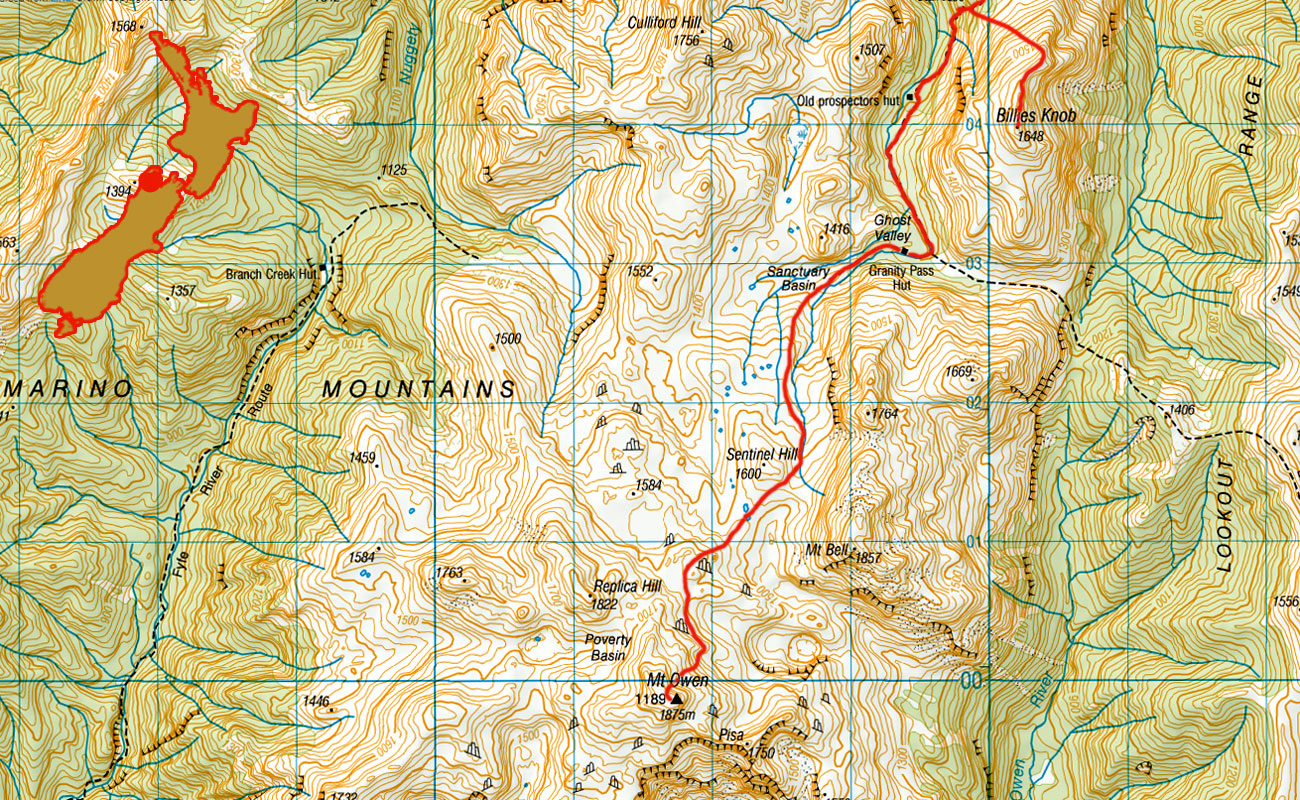Mt-Owen-route