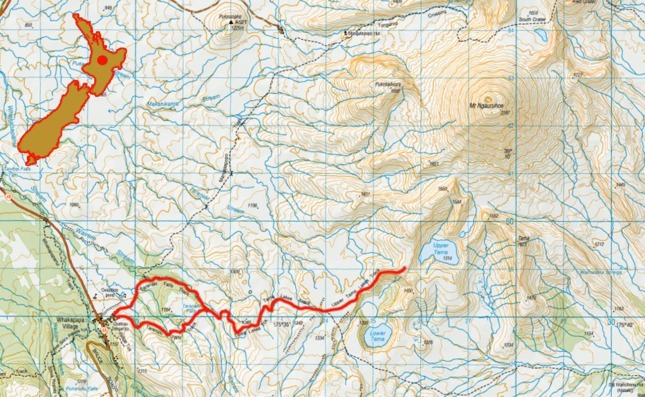Tama-Lakes-route