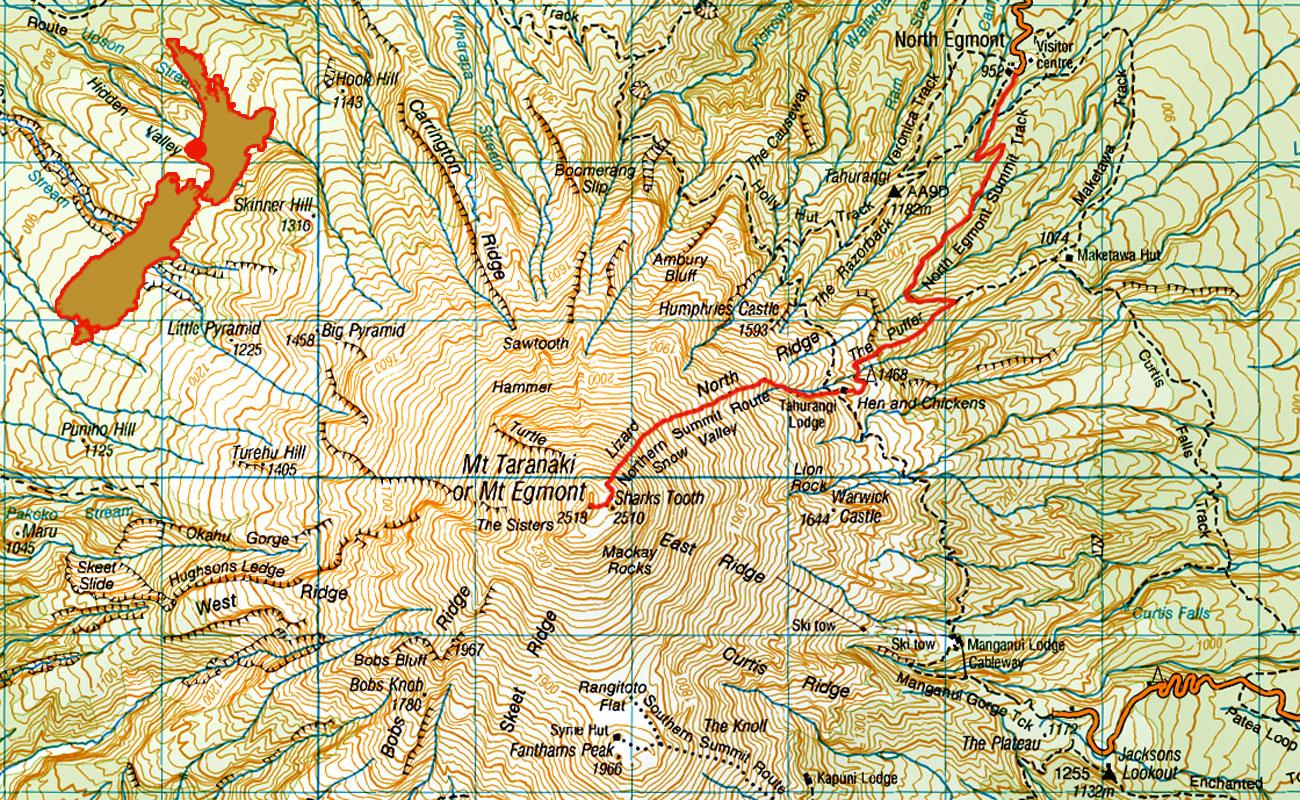 Taranaki-Tahurangi-Lodge-route