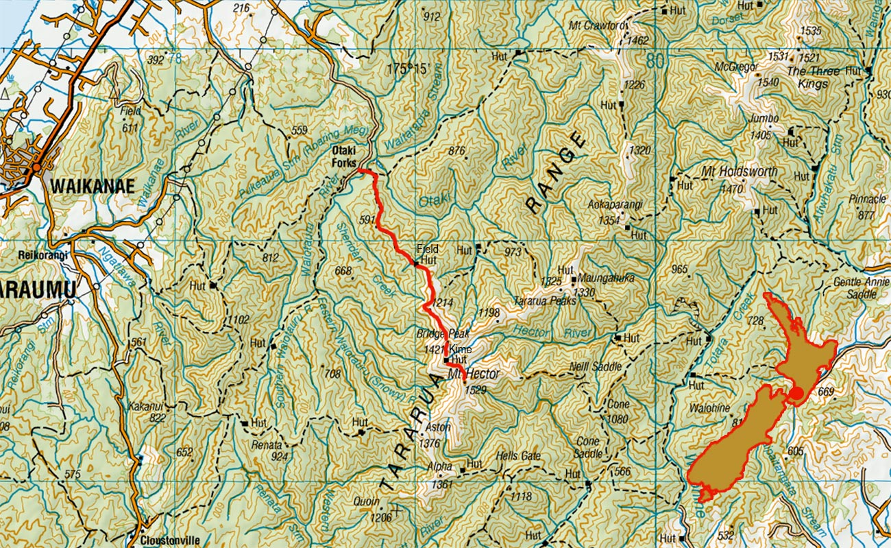 Mt-Hector-route