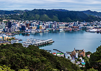 Landscape, culture, travel images - Wellington New Zealand