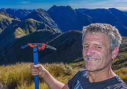 Tararua New Zealand mountain images and information