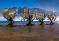 Glenorchy New Zealand mountain images and information