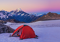 Annette Plateau Mt Cook New Zealand mountain images and information