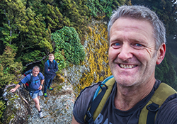 Orongorongo New Zealand mountain images and information.