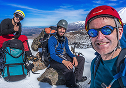 Tongariro New Zealand mountain images and information