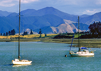 Nelson New Zealand landscape, culture, travel images