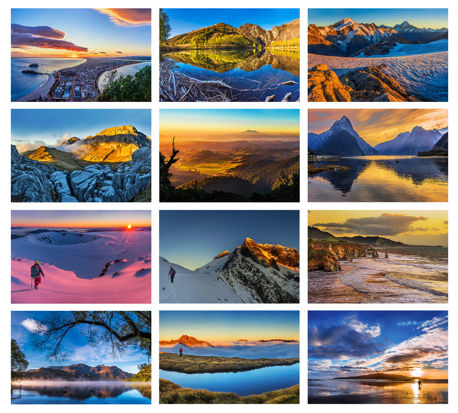 Order Your Unique Large Format Occasional Climber Calendar Now