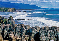 Punakaiki New Zealand landscape, culture, travel images