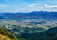 Hanmer Springs New Zealand landscape, culture, travel images.