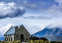 Tekapo New Zealand landscape, culture, travel images