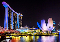 Singapore landscape, culture, travel images