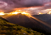 Kahurangi New Zealand mountain images and information