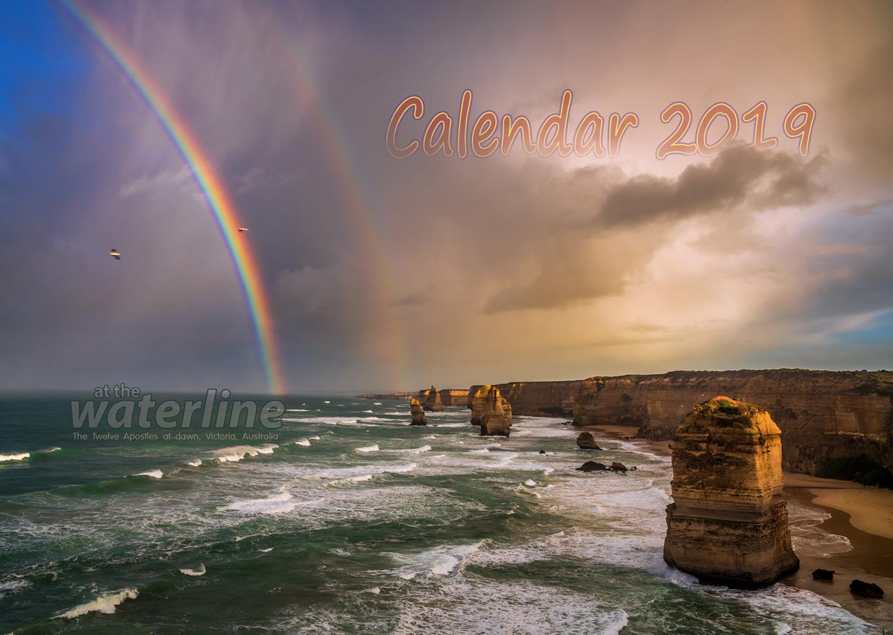 2019 landscape calendar occasionalclimber.co.nz